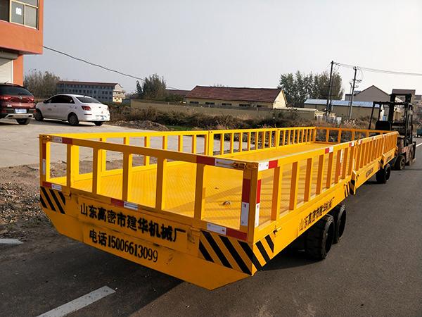 重型平板拖车的使用注意事项