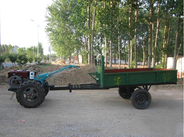 如何对农用拖车出现的异常声响进行解决?