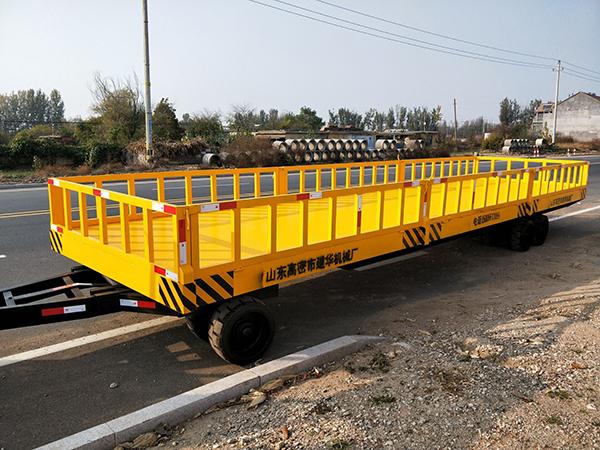 关于重型平板拖车的维护