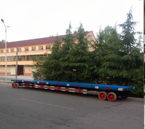 20吨平板拖车