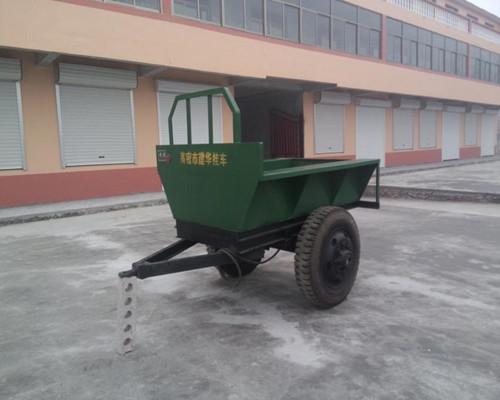 3吨四轮拖车