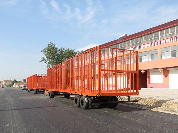 8t高护栏拖车