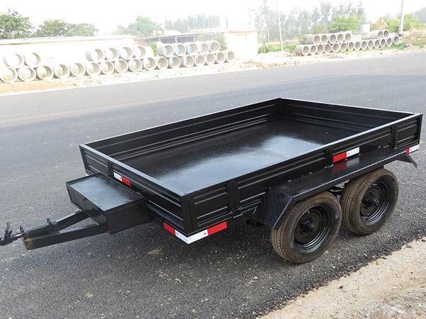 潍坊5t双轴农用拖车