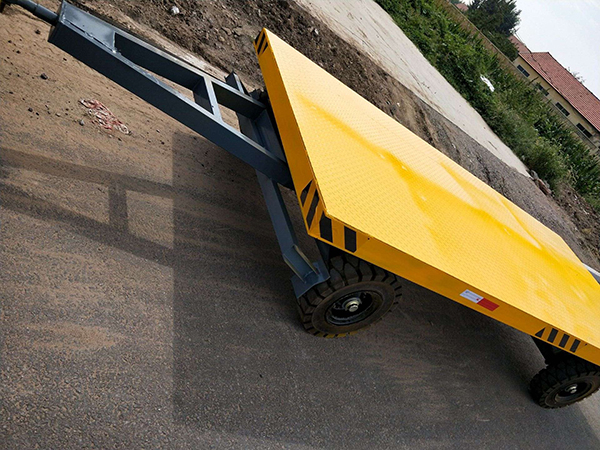 15T平板拖车