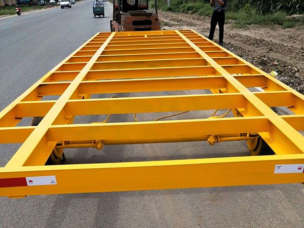20T平板拖车